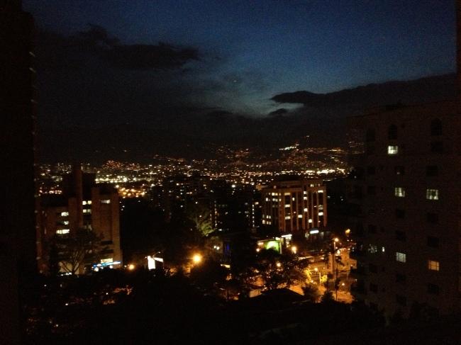 Evening, Medellin